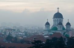 De mening van Boekarest royalty-vrije stock afbeelding