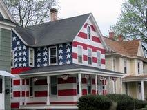 De mening van Cambridge Maryland van Amerikaans huis 2016 Royalty-vrije Stock Afbeelding