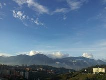 De mening van Caracas Stock Afbeeldingen
