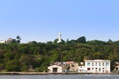 De mening van Cuba Havana van de promenade aan het standbeeld van Christus Royalty-vrije Stock Afbeelding