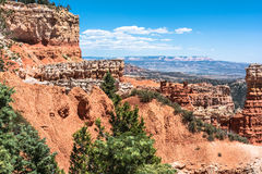 De mening van de Aguacanion, Bryce Canyon National Park, Utah Stock Afbeeldingen