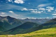 De mening van de berg stock afbeelding