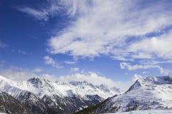 De mening van de berg Royalty-vrije Stock Fotografie