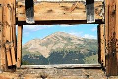 De Mening van de berg stock foto's