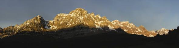 De mening van de berg Royalty-vrije Stock Afbeelding