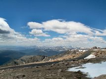 De mening van de berg in Colorado 3 Stock Foto