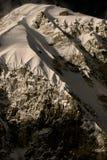 De mening van de berg van Nepal Royalty-vrije Stock Afbeeldingen
