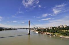 De Mening van de brug Stock Fotografie