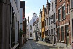 De Mening van de Brugestraat Stock Foto's