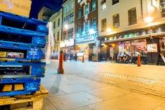 De mening van de Chinatownnacht Stock Afbeelding