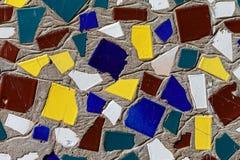 De mening van de close-up van een abstract mozaïek. Royalty-vrije Stock Afbeeldingen