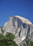 De Mening van de close-up van helft-Koepel Piek in Yosemite royalty-vrije stock afbeeldingen