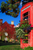 De mening van de dag van Engels plattelandshuisje in Bicester het UK Royalty-vrije Stock Afbeeldingen
