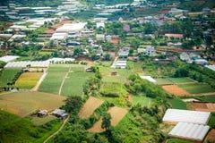 De mening van de Dalatstad, Vietnam Royalty-vrije Stock Afbeelding