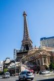 De mening van de de Boulevardstraat van Las Vegas Stock Foto