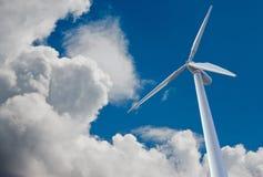 De mening van de de molenkikker van de wind Royalty-vrije Stock Fotografie