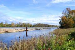 De mening van de de rivierherfst van Fraser Stock Afbeelding