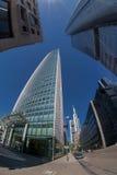 De mening van de de stadsstraat van Frankfurt Royalty-vrije Stock Afbeelding