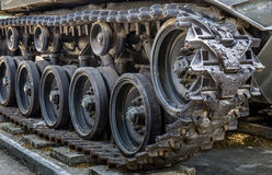 Uitstekende Tank - Kruippakjes Royalty-vrije Stock Foto's