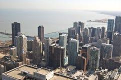 De Mening van de Horizon van Chicago tijdens de Dag Royalty-vrije Stock Foto's