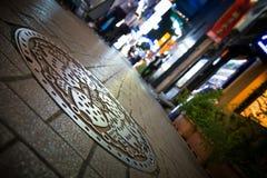 De mening van de Ikebukurostraat Royalty-vrije Stock Foto