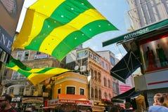 De mening van de Istambulstraat stock foto's
