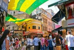De mening van de Istambulstraat Royalty-vrije Stock Afbeelding