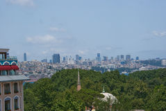De mening van de Istambulstraat royalty-vrije stock foto's