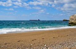 De mening van de kust Royalty-vrije Stock Foto
