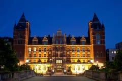 De mening van de nacht van Koninklijke universiteit van Muziek Londen stock afbeeldingen