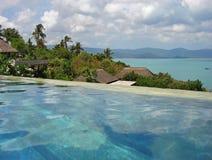 De Mening van de pool in Paradijs Royalty-vrije Stock Fotografie