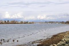 De Mening van de rivier Stock Afbeelding