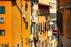 De mening van de stad van Florence, Italië Stock Foto's