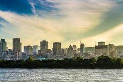 De mening van de Stad van Montreal Stock Afbeeldingen