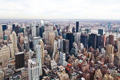 De Mening van de Stad van New York Royalty-vrije Stock Afbeelding