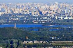 De mening van de Stad van Peking   Stock Afbeeldingen