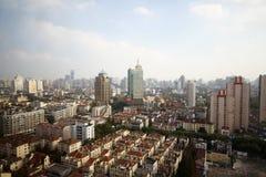 De mening van de stad van Shanghai Stock Fotografie