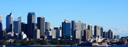 De Mening van de Stad van Sydney royalty-vrije stock afbeeldingen