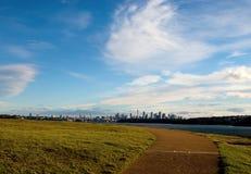 De mening van de Stad van Sydney van het HoofdPark van het Zuiden royalty-vrije stock fotografie