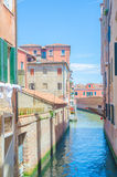 De mening van de stad van Venetië in Italië Stock Fotografie