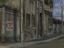 De Mening van de straat vector illustratie