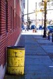 De Mening van de straat in Salt Lake City stock fotografie