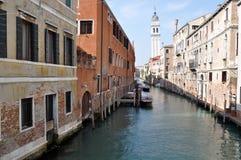 De Mening van de Straat van Venetië stock foto's