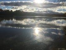 De mening van de Susquehannarivier Stock Foto's