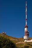 De mening van de top bij Mt. Dobratsch Stock Afbeelding