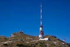 De mening van de top bij Mt. Dobratsch royalty-vrije stock foto's