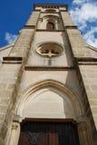 De mening van de toren van onderaan Royalty-vrije Stock Foto's