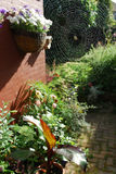De mening van de tuin royalty-vrije stock afbeeldingen