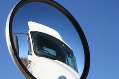 De Mening van de vrachtwagen Stock Foto