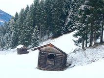 De mening van de winter Stock Foto's
